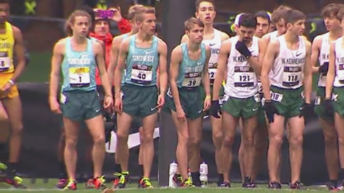 sports shoes 160ab ab7fa Bowers 35th, Yanek 44th at Nike Cross Country Nationals ...
